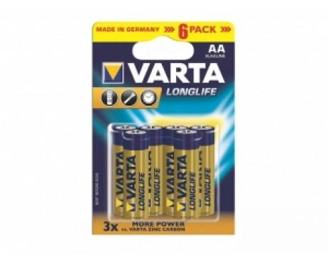 Элемент питания Varta Longlife 4106 LR-6 BL-6
