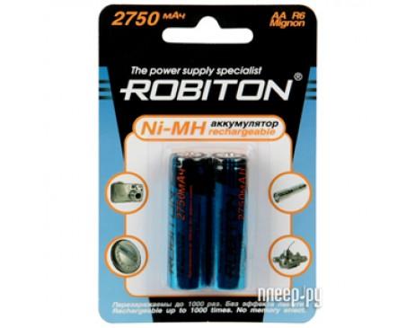 Аккумулятор Robiton Ni-Mh 2750 mAh (2 шт.)