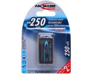 Аккумуляторы Ansmann Ni-Mh 250 mAh