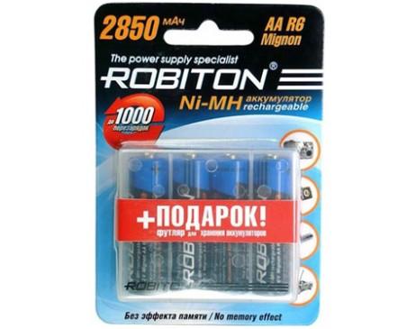 Аккумуляторы Robiton Ni-MH 2850 мА/ч (4 шт.)