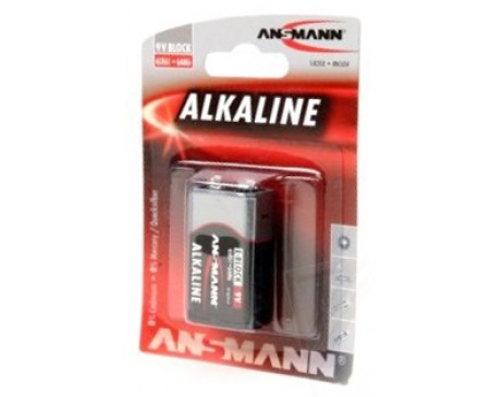 Батарейка Ansmann Alkaline 9 V